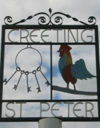 Creeting St Peter logo